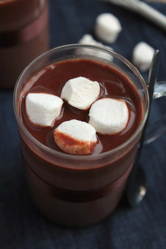 """ Chocolat Chaud Viennois aux Chamallows """