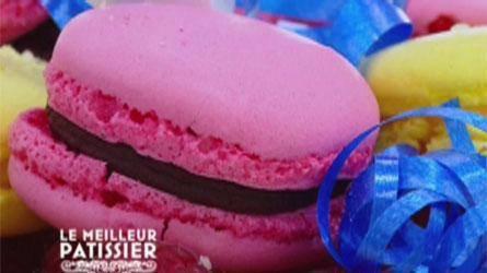 """"""" Les Macarons Chocolat Framboise ( Recette Spécial de l'émission Le Meilleur Pâtissier sur M6 ) """""""