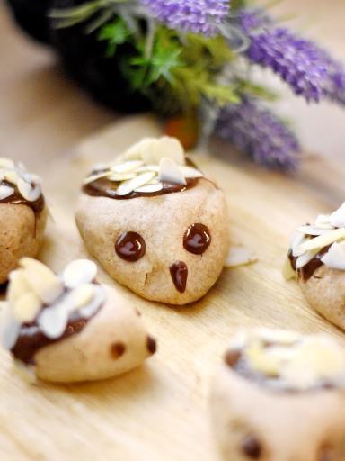 """"""" Biscuits hérissons ( Recettes Spéciale Noel )  """""""