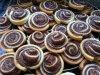""""""" Spirales feuilletées au Nutella """""""