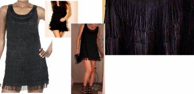 Charleston en cours de vente brand new clothes - Robe charleston franges ...