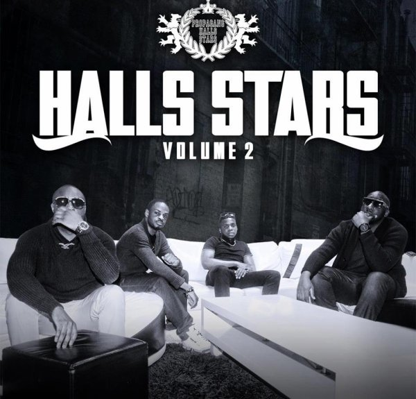 VOICI EN EXCLUSIVITER LA POCHETTE DE HALLS STARS VOL.2