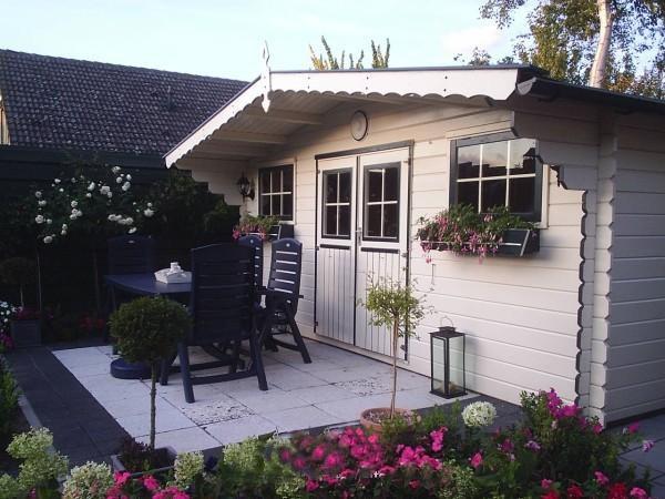 Petit chalet abri de jardin 506 x 296 cm ou 506 x 380 cm for Petit chalet de jardin