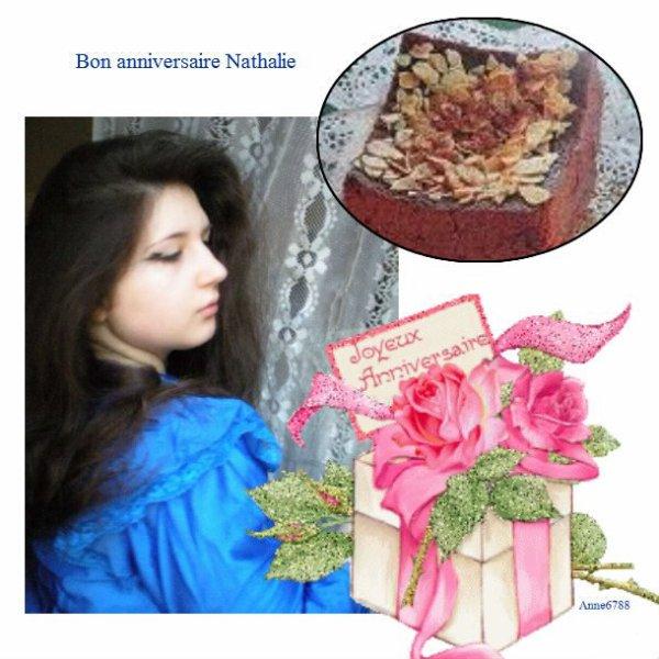 bon anniversaire Nathalie
