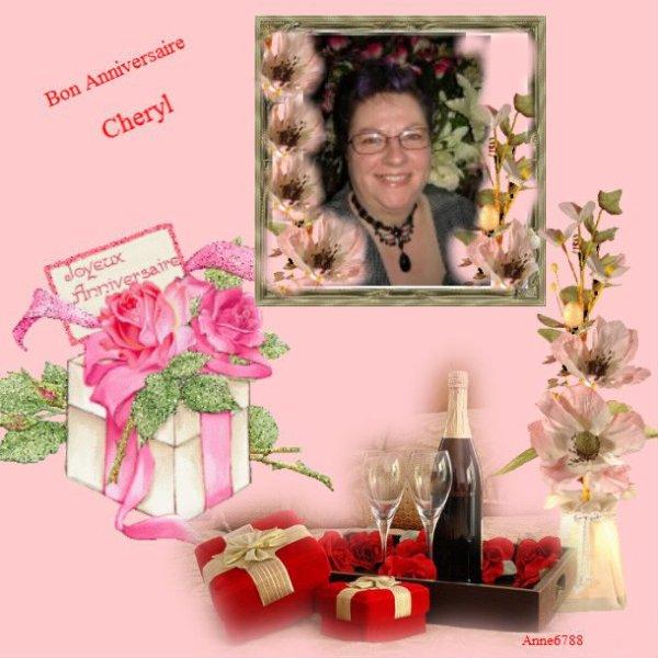 Bon anniversaire Cheryl