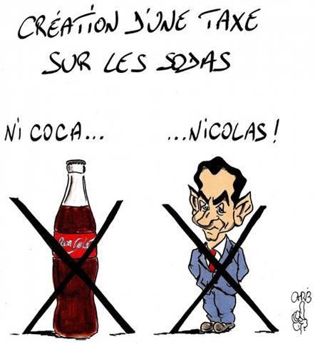 il ne faudra plus boire de coca, ni de cola
