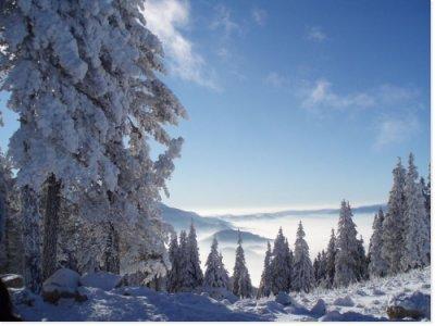 de nouveau de la neige sur les sommets