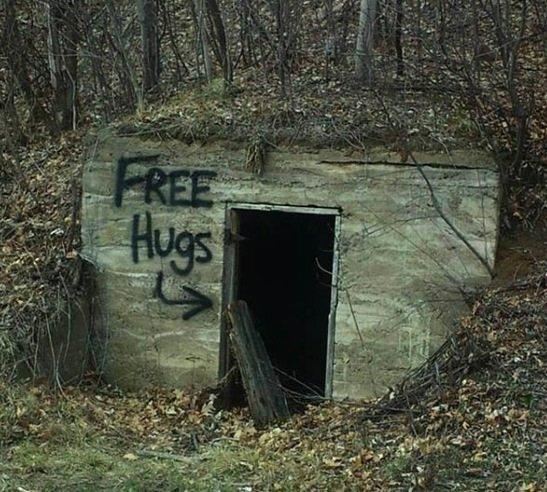FREE HUGS.....