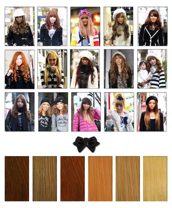 cheveux gyaru <3