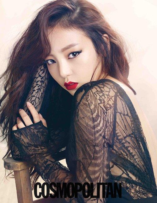 mes chanteuses kpop preferées<3