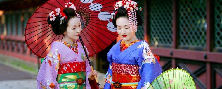 geisha , mont fuji et mode japonnaise <3