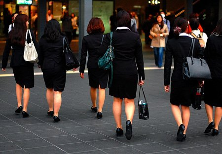 les femmes au japon <3