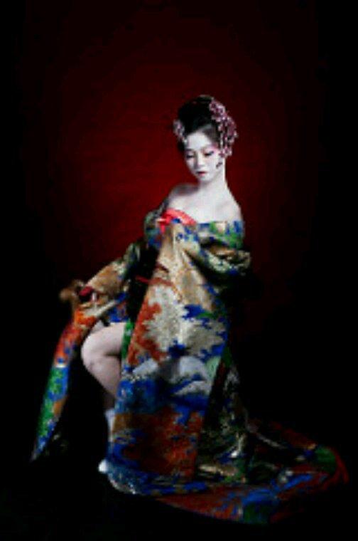 Geisha magnifique