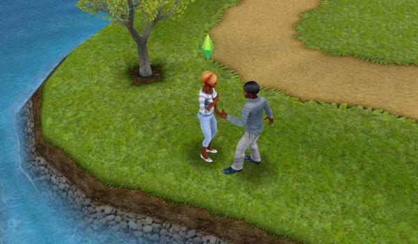 Deux amoureux se dispute