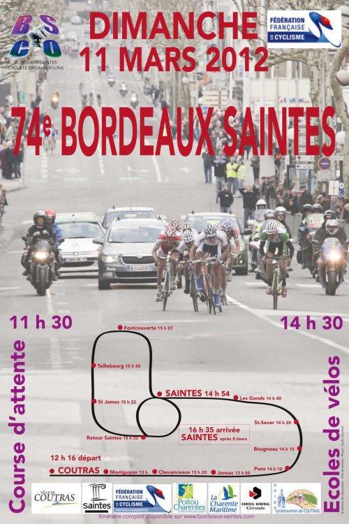 Ma prochaine course: Bordeaux-Saintes