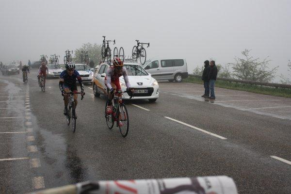 Résultat de la deuxième étape de la Ronde de l'Izard: Mazères(09)-Mirepoix, 155km