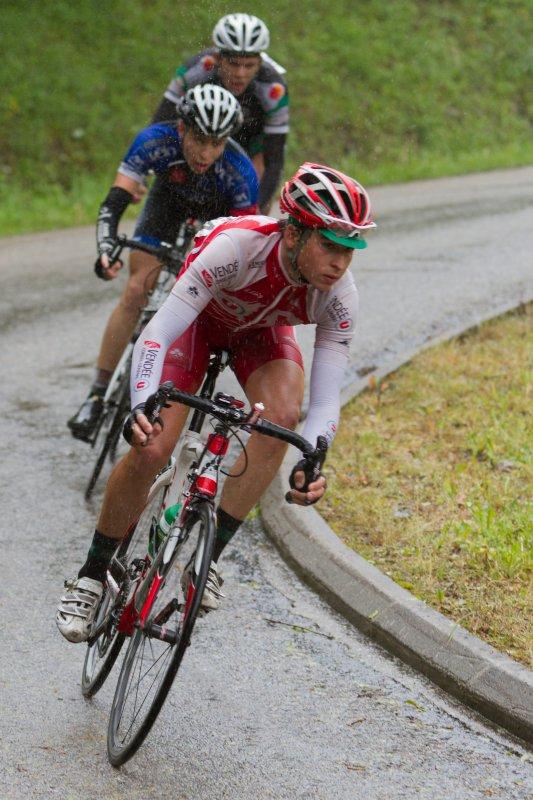 Résultat de la quatrième étape de la ronde de l'Isard: Auterive-St Girons (185km)