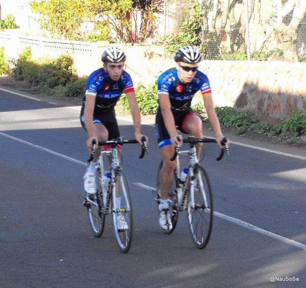 Résultat de la 2ème étape de la LVII VUELTA CICLISTA ISLA DE TENERIFE:LA LAGUNA - GRANADILLA, 102,1 Km