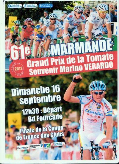 Programme de ce week-end: Grand prix de la Tomate à Marmande