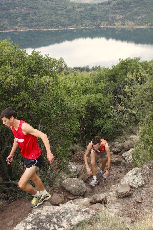 Course à pied avec le Trail du Salagou le 07/10/2012