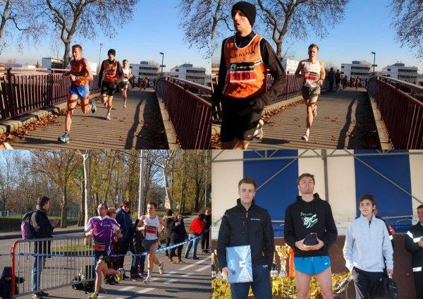 10km De la Ronde du Feu à Ramonville le 09/12/2012