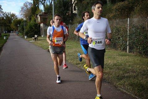 """BOUCLE DU CONLUENT - 10km - 16 Novembre 2014; 35'56"""""""