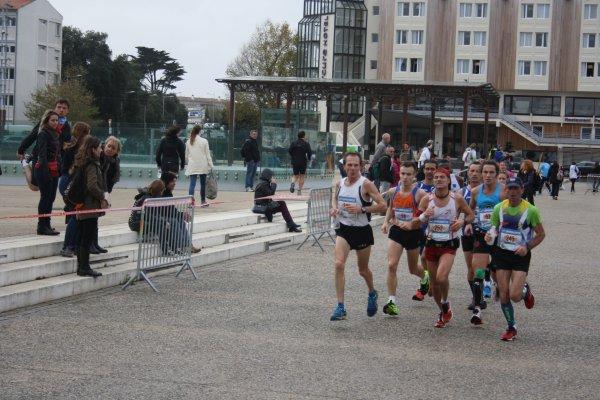 L'ACM au marathon de La Rochelle, La dépêche