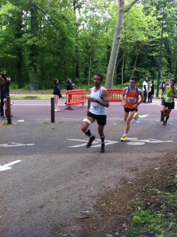 COURIR ENSEMBLE - HANDICAP INTERNATIONAL 75  15 MAI 2016, 10km, Bois de Boulogne