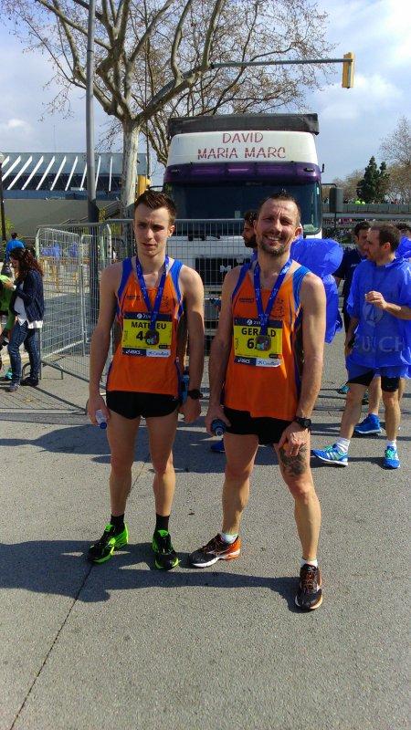 Marathon de Barcelone le 12/03/2017