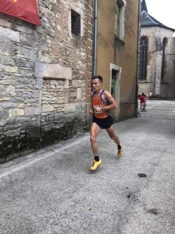 Villeneuve d'Aveyron (12) corrida 7km le 08/07/2017