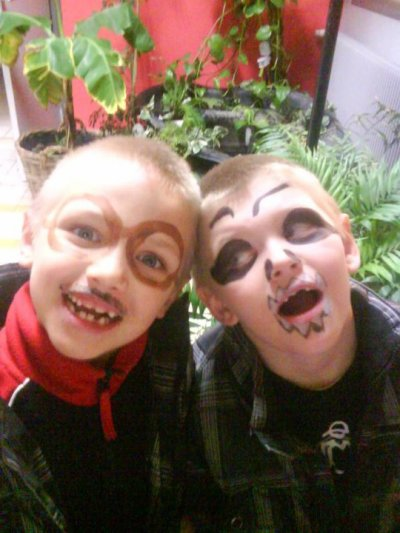 mes 2 loutes a halloween