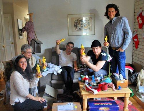 Nouvelle photos de la famille FRANCO !