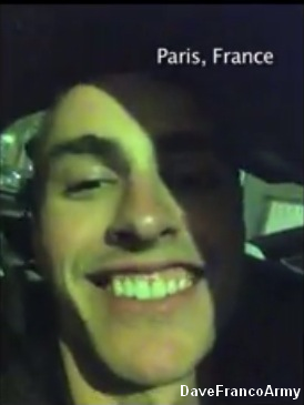 Dave Franco à Paris !