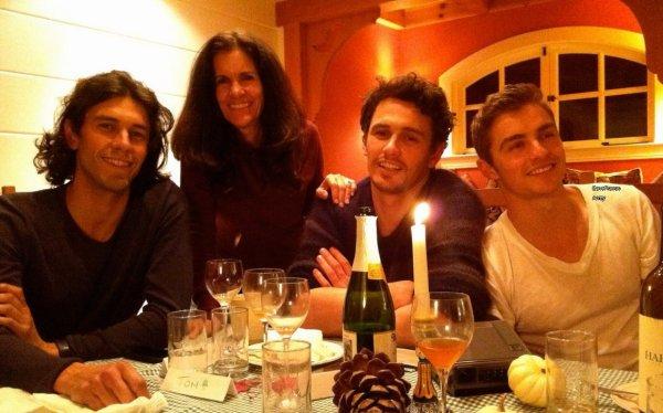 """La famille Franco: """"créatif, curieux, inhabituel»"""