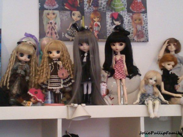 les petites demoiselles !