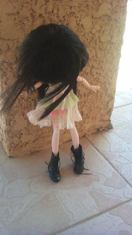 Quand Emilie chipe les chaussures de Louis...