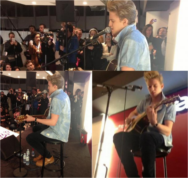 . Cody in Paris! .