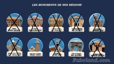 LES MONUMENTS DE NOS REGIONS 2016