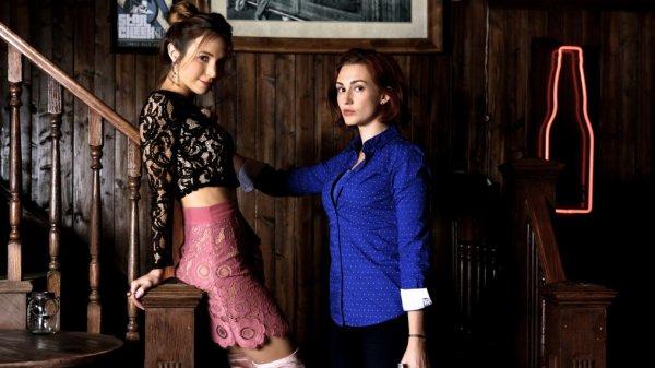 Nicole et Wawerly couple Wynonna Earp