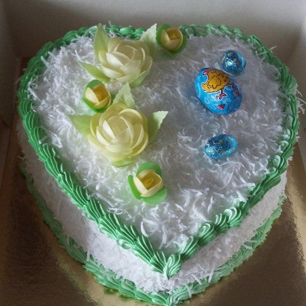 Gâteau mont blanc coco