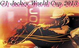G1 Jockey World Cup 2013 : programme du 29 Juin 2013 (J-6)