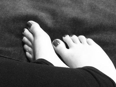Les très jolis pieds de Wendy :)