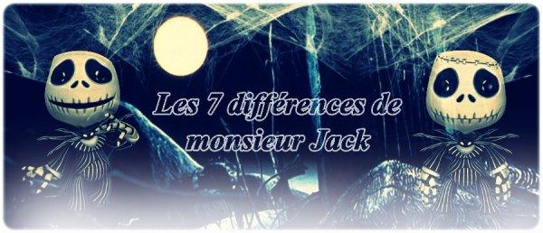 Les 7 différences !