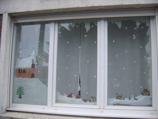 Peinture Sur Vitre Noel 2009 Le Monde Des Decos