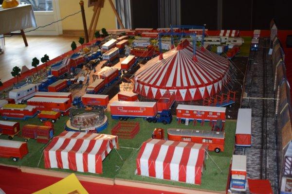 maquette de cirque