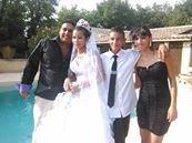le jour  du mariage de mn neveu