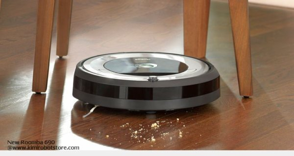 iRobot Roomba 690 Hulu Perak in a Push of A Button