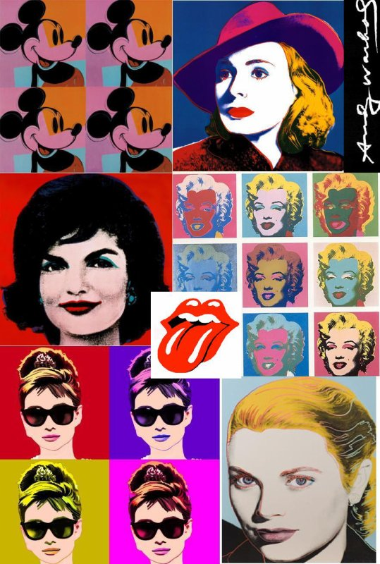 The Pop Art Of Andy Warhol!