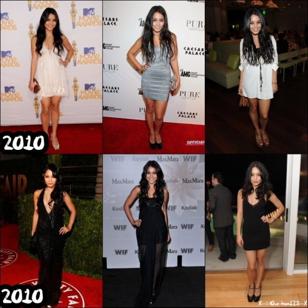 Nessa évolue d'année en année ! (:
