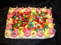 les gateaux de bonbons!